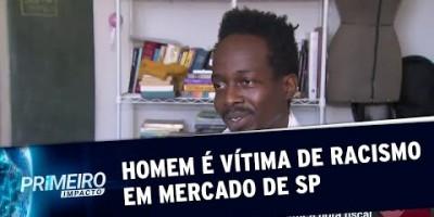 Homem é vítima de preconceito em mercado de bairro nobre de SP | Primeiro Impacto...