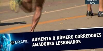 Aumenta número de corredores amadores lesionados por falta de orientação (17/08/19)