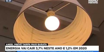ASSISTA O VIDEO- Energia vai cair 3,7% neste ano