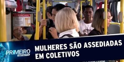 Assédio sexual no transporte público incomoda mulheres em SP | Primeiro Impacto...