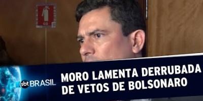 PL Abuso de autoridade: Moro lamenta derrubada de vetos presidenciais | SBT Brasil...