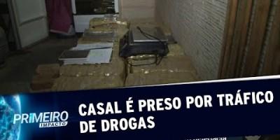 VÍDEO - Casal é preso em casa por tráfico de drogas em São Paulo | Primeiro Impacto...
