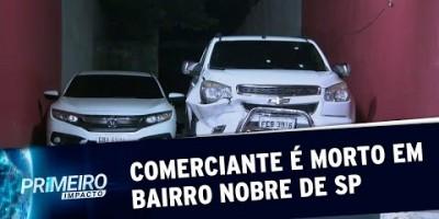 SP: Comerciante é executado com 6 tiros na Vila Madalena | Primeiro Impacto (19/07/19)