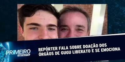 Repórter fala sobre doação dos órgãos de Gugu Liberato e se emociona