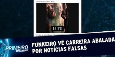 Funkeiro é vítima de fake news e sofre ameaças de morte | Primeiro Impacto (23/08/19)