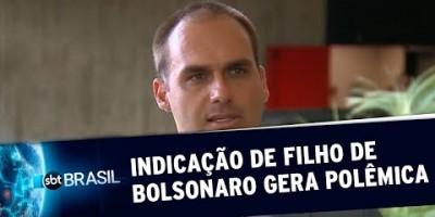 Indicação de Eduardo Bolsonaro para embaixada gera polêmica (12/07/19)