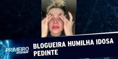 Blogueira que humilhou idosa em rodoviária pede desculpas | Primeiro Impacto (22/07/19)