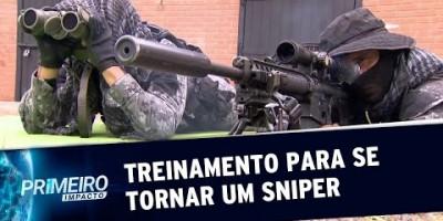 Snipers: o treinamento físico e mental para se tornar um atirador | Primeiro Impacto...