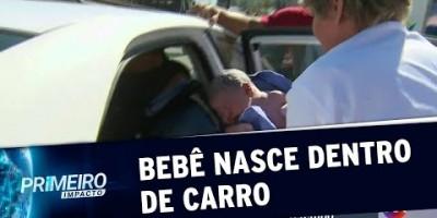 VÍDEO - Mulher da à luz durante reportagem do SBT no Rio | Primeiro Impacto (25/06/19)