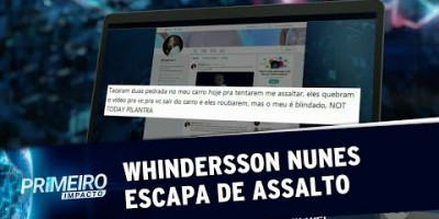 Whindersson Nunes escapa de assalto e brinca com a situação (19/08/19)