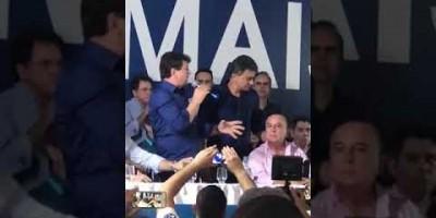 """Ivo Cassol vai na pré-convenção do PSDB e chama Expedito de """"nosso candidato ao..."""