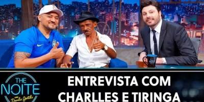 Entrevista com Charlles e Tiringa - The Noite