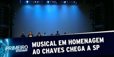 Musical sobre a turma do Chaves ganha data de estreia em SP | Primeiro Impacto (05/07/19)