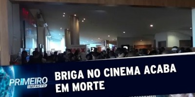 VÍDEO - Briga por poltrona do cinema termina em morte