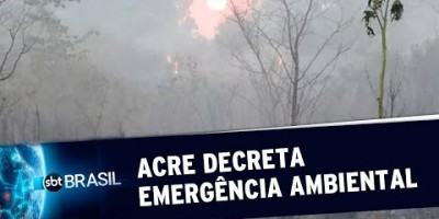 Governo do Acre decreta situação de emergência devido a queimadas | SBT Brasil...