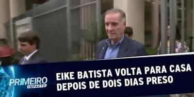 Eike Batista passa o Dia dos Pais em casa após ser solto pela Justiça