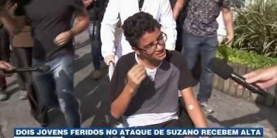 Dois jovens feridos no ataque de Suzano recebem alta
