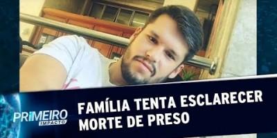 Família contesta versão da Polícia que diz que detido se matou em cela | Primeiro...