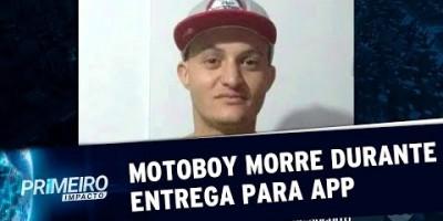 Motoboy de aplicativo morre durante entrega | Primeiro Impacto (11/07/19)