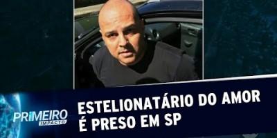 Homem conhecido como estelionatário do amor é preso em SP (14/08/19)
