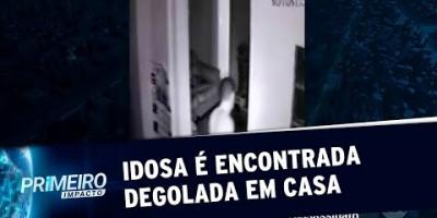 Idosa de 70 anos é degolada pelo filho adotivo em São Paulo | Primeiro Impacto...