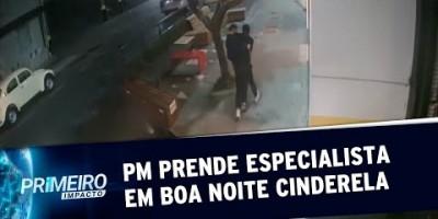 Polícia Militar prende homem que aplicava golpe do Boa Noite Cinderela | Primeiro...