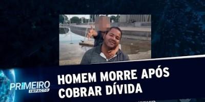 VÍDEO - PR: homem é morto por amigo após cobrar dívida de 300 reais
