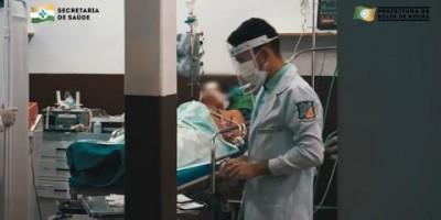 Prefeitura divulga vídeo impactante sobre realidade da covid-19 em Rolim de Moura