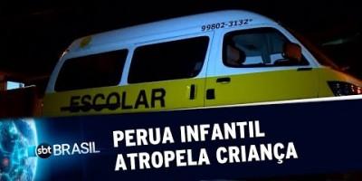 Criança de 2 anos cai de van e é atropelada em SP 16/08/19)