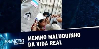 Bombeiros resgatam Menino Maluquinho da vida real no ES | Primeiro Impacto (10/01/20)