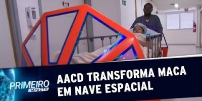 AACD transforma maca em nave espacial para crianças e jovens | Primeiro Impacto...