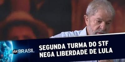 Segunda Turma do STF nega pedido de liberdade de Lula | SBT Brasil (25/06/19)