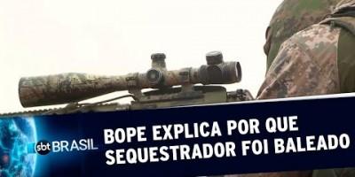 BOPE explica por que sequestrador de ônibus foi morto por atirador | SBT Brasil...