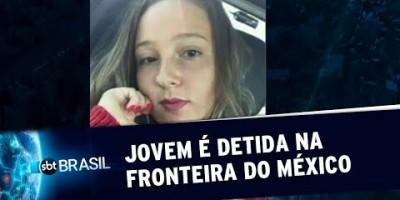 Adolescente brasileira é detida na fronteira mexicana e levada para abrigo | SBT Brasil...