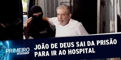 João de Deus deixa a prisão para realizar exames em hospital de Goiás | Primeiro...