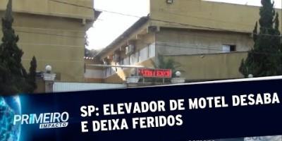 Elevador de motel despenca e deixa três feridos na Grande SP | Primeiro Impacto...