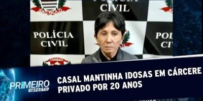 VÍDEO - Polícia descobre idosa mantida em cárcere privado há mais de 20 anos |...