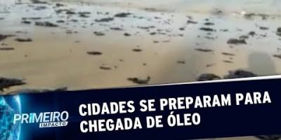 Cidades costeiras do sudeste do país se preparam para chegada de óleo | Primeiro...