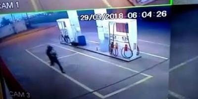 Roubos no Posto de combustível na Avenida 25 de Agosto, Bairro Cidade Alta em Rolim de...