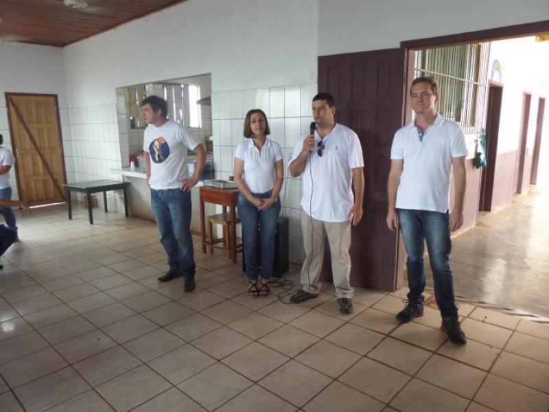 Dia do Bem 2018 - Realização União do Vegetal em parceria com a Escola Dionísio Quintino