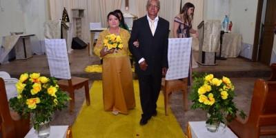 NOVO HORIZONTE: BODAS DE OURO DE IDELFONSO RAMOS GUEDES E ELZA ALVES GUEDES
