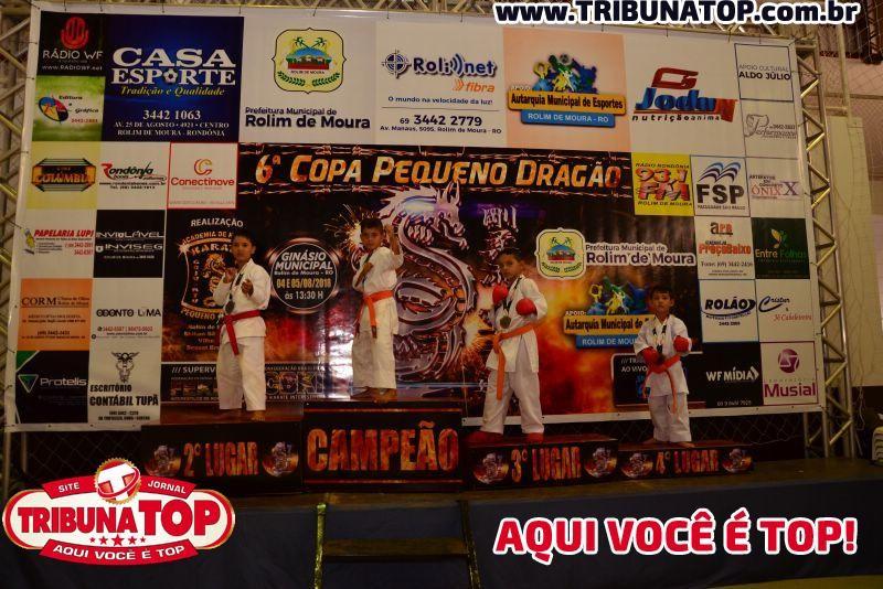 ROLIM DE MOURA: 6 ª COPA PEQUENO DRAGÃO (SÁBADO)
