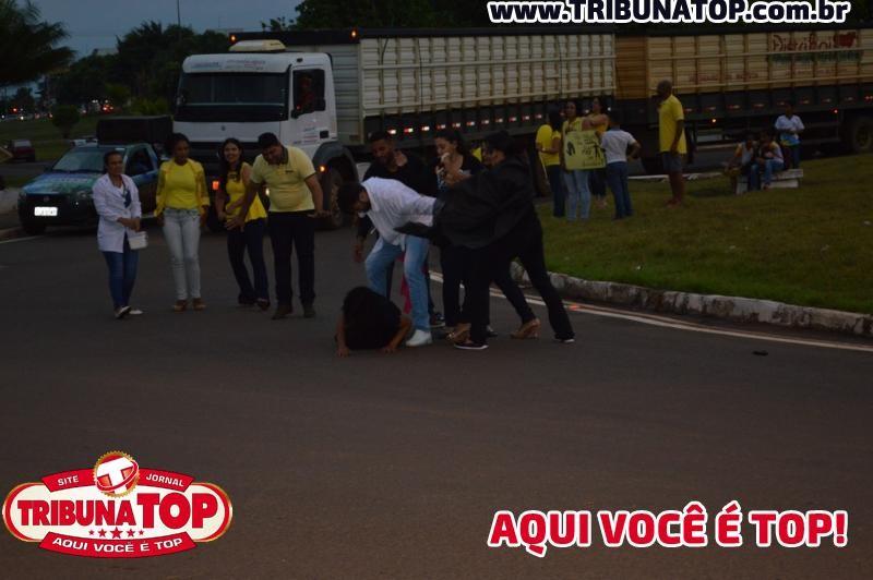 ROLIM DE MOURA: SETEMBRO AMARELO - PROJETO VALORIZE A VIDA: ESCOLA JBD