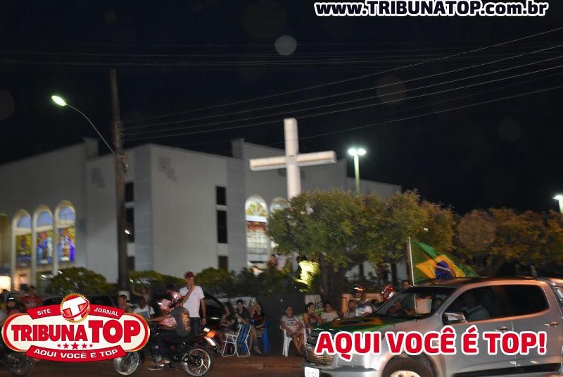 ROLIM DE MOURA: CARREATA - BOLSONARO e MARCOS ROCHA