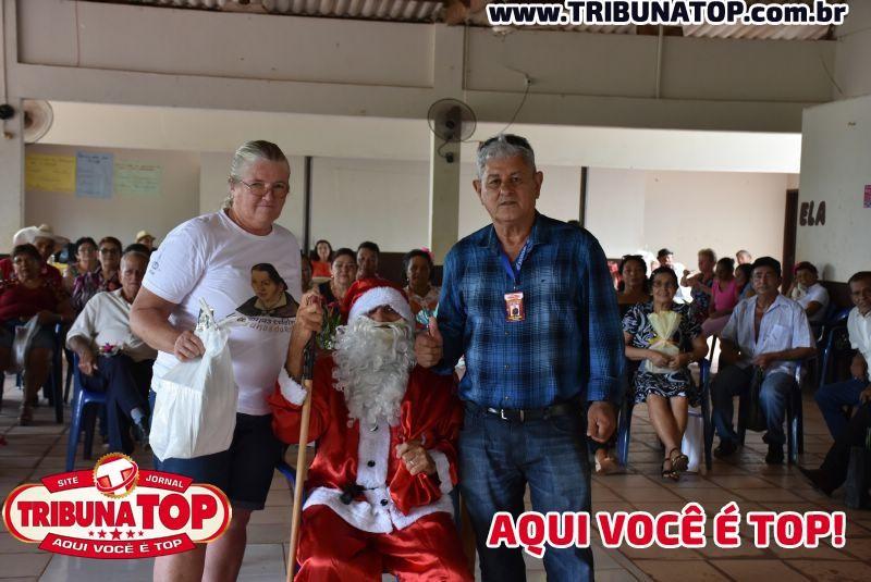 ROLIM DE MOURA: CONFRATERNIZAÇÃO AMIGO SECRETO - IDOSOS