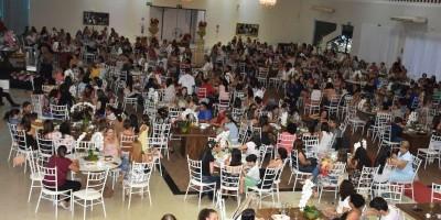 ROLIM DE MOURA: CHÁ BENEFICENTE - MULHERES DE LENÇO
