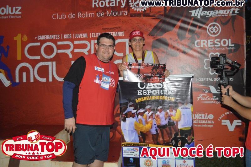 ROLIM DE MOURA: 1º CORRIDA MALUCA CONTA POLIOMIELITE ROTARY CLUB