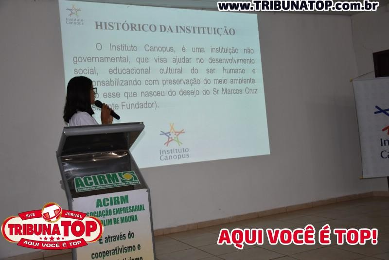 INSTITUTO CANOPUS: PROJETO PRIMEIRO PASSO