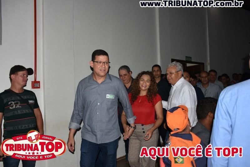GOVERNADOR MARCOS ROCHA EM ROLIM DE MOURA.