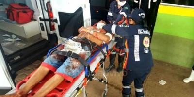Homem é atacado com mais de 10 facadas em residência na zona Leste de Porto Velho